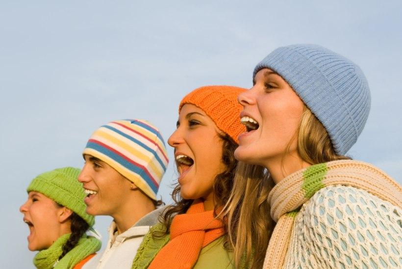 STRESSI JA ÜKSINDUSE VASTU: üheskoos laulmine teeb rõõmsamaks