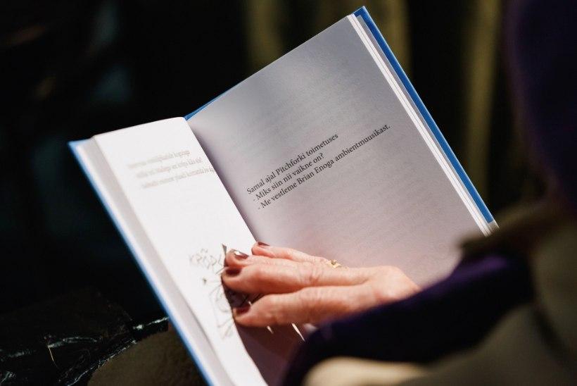 GALERII | Mart Juur esitles Onu Bellale pühendatud raamatut