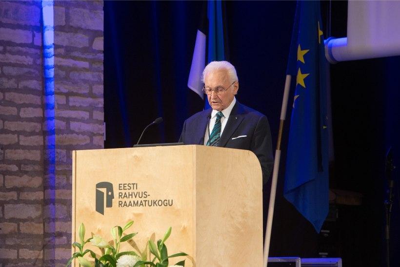 GALERII | Rahvusraamatukogus tähistati suveräänsusdeklaratsiooni aastapäeva