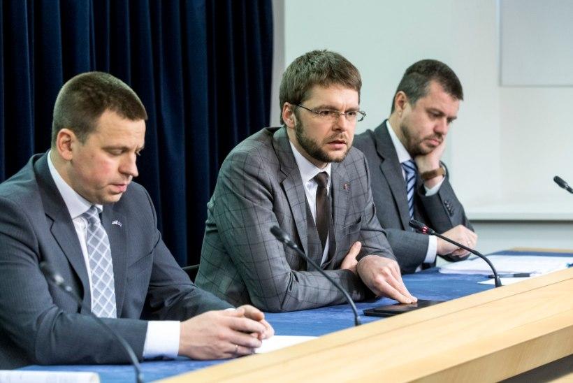 Ossinovski: tegin Ratasele ettepaneku Reinsalu ametist vabastada