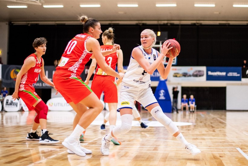 FOTOD   Eesti naiskorvpallurid said kodus Valgevenelt ülisuure kaotuse