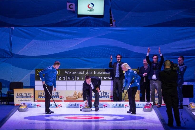 FOTOD | Jüri Ratas avas curlingu EMi, eestlased alustavad turniiri täna