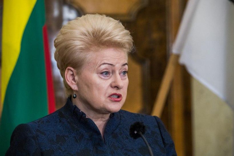 JUBA JÄLLE: Leedu president ei jõudnud ka Läti 100 pidustustele!