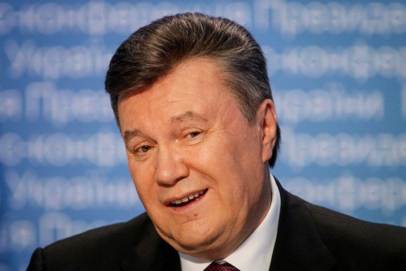 Ukraina endine president Janukovõtš viidi haiglasse