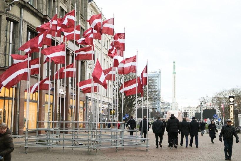 Läks lahti: Läti riigi juubel vallandas Riias tõelise jaskari