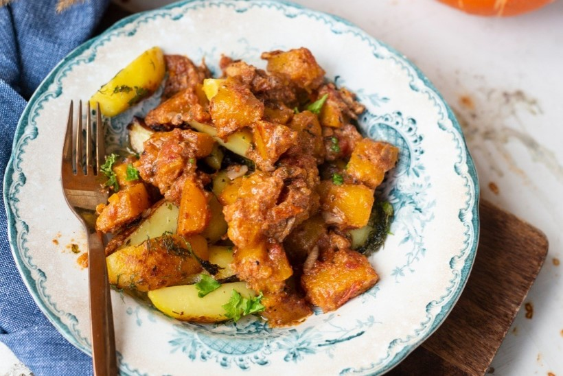 Toit kolmeks päevaks: kõrvitsa püreesupp, kana-kõrvitsakarri ja karri köögiviljadega