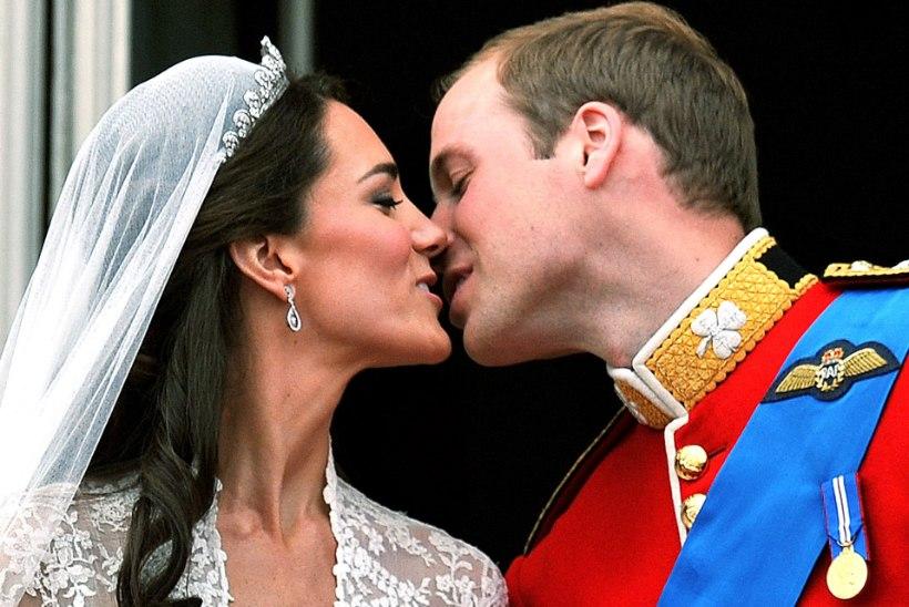RAAMAT: prints William jättis Kate Middletoni maha ja too jõi end täis
