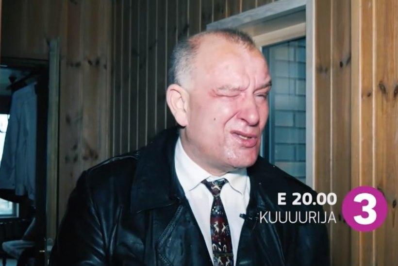 """""""Kuuuurija"""" täna: võlakütt Ants Päär sai pipragaasiga näkku!"""
