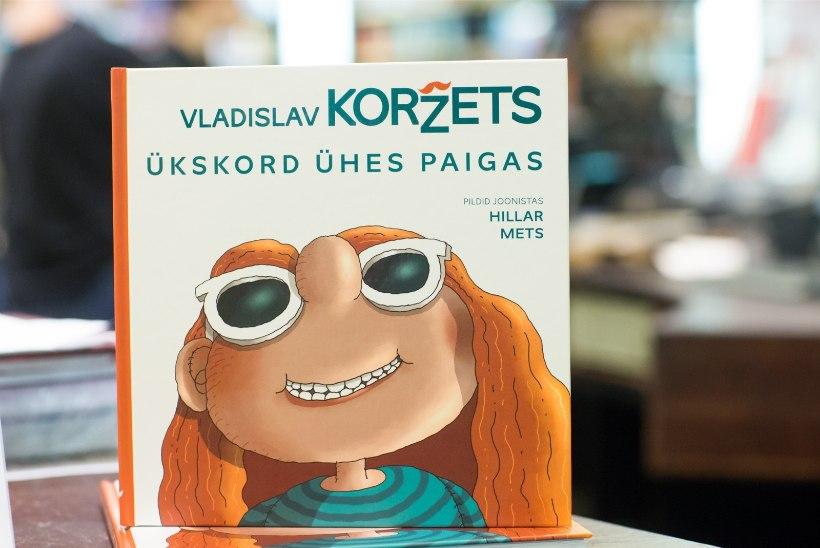 GALERII | Vladislav Koržets esitles uut raamatut lastele ja nende vanematele