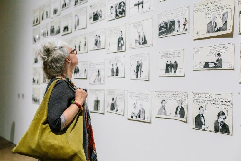 GALERII | Kumus saab näha näitust üheksakümnendate varjujäänud ja kadunud teostest