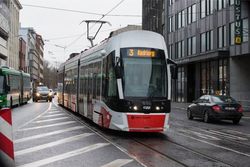 Tallinn koos ümbritsevate valdadega plaanib suurt trammiliikluse laiendust