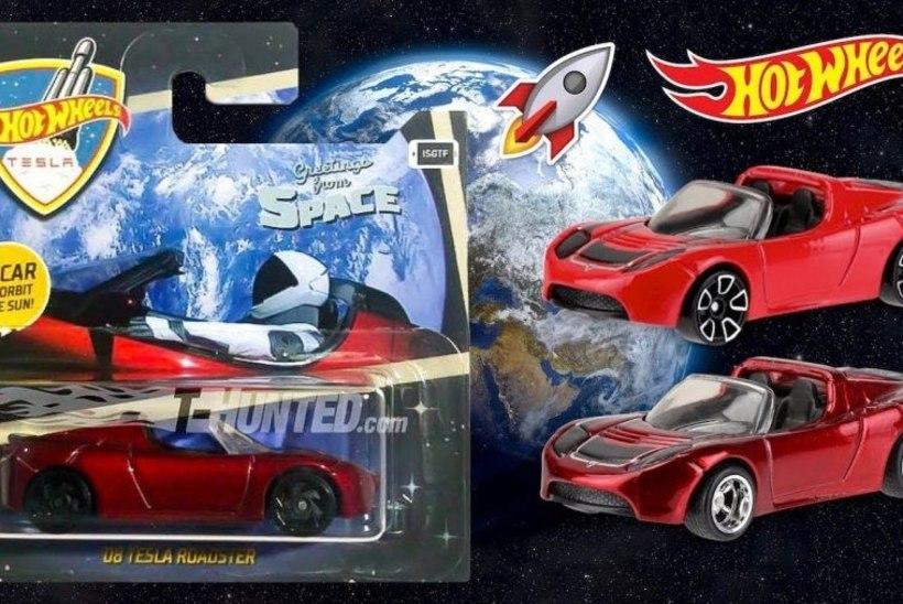 Rõõmusõnum väikestele ja suurtele poistele: kosmose-Tesla vormiti automudeliks