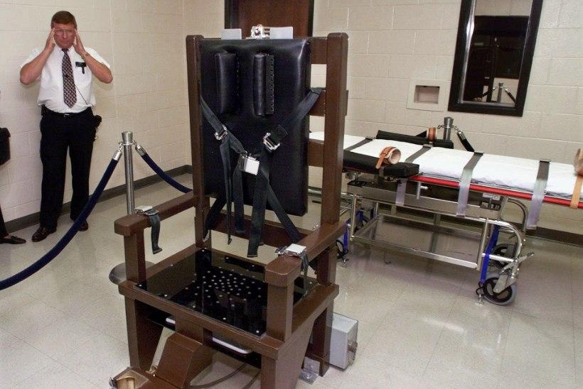 USAs hukati üle pika aja surmamõistetu taas elektritoolis
