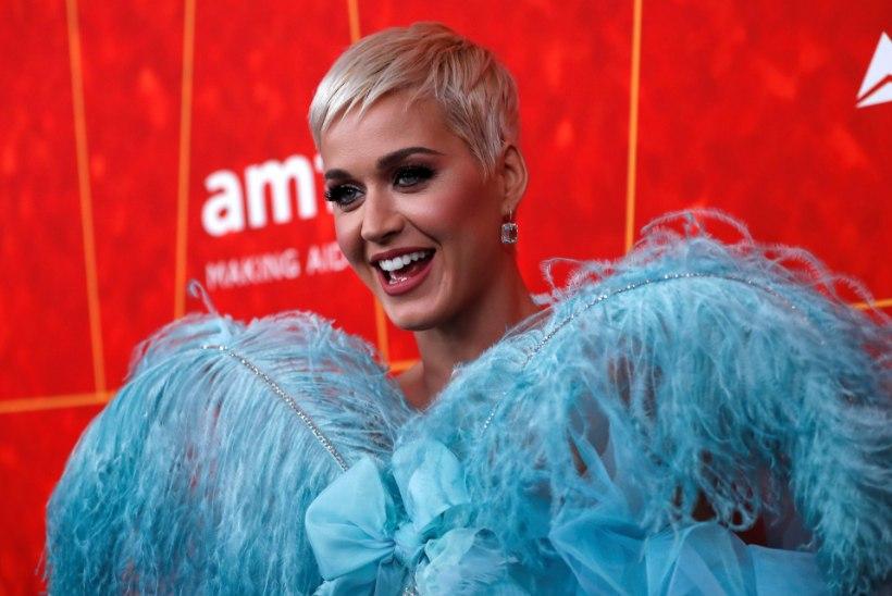 Katy Perry on maailma edukaim naislaulja