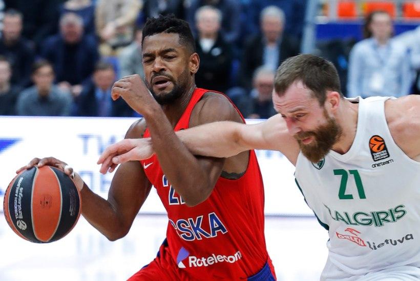 VALUS! Suuremat osa mängust juhtinud Žalgiris kaotas CSKA-le lisaajal