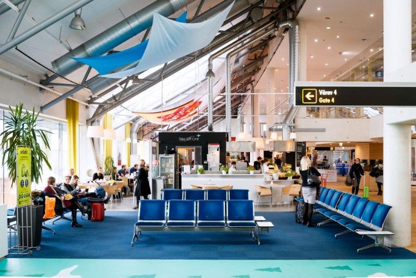 ÄGE VÄRK: reisijad saavad lennujaamas Pärdi ja Tormisega kõrvu hellitada