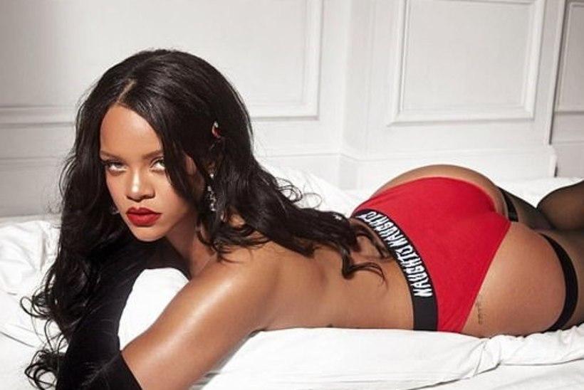 MITTE NÕRGANÄRVILISTELE! Rihanna värske pesupilt lööb pulsi üles!