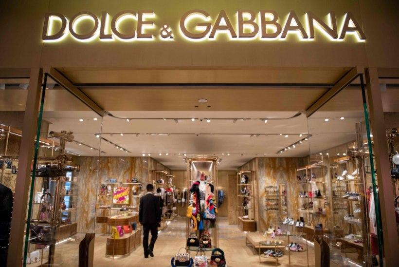 Dolce & Gabbana võib prohmaka tõttu Hiina turult kaduda