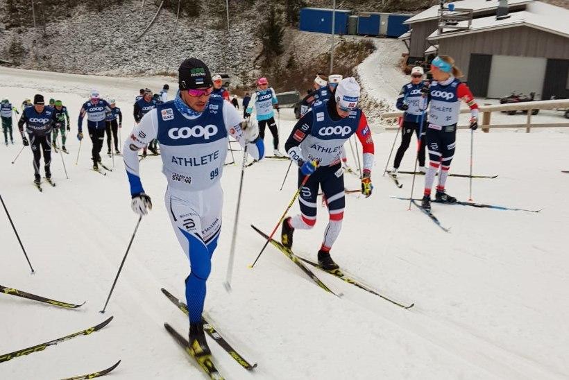 Kläbo andis lapsiku veaga esikoha käest, Eesti sprinteritel punktikohtadele asja polnud