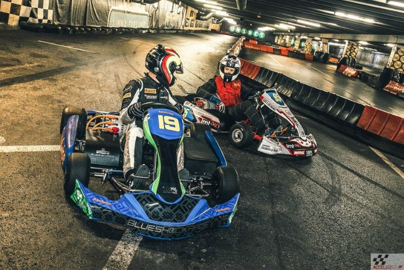 Pilk peale, käsi külge: lätlaste e-kart on võimeline Bugatti Veyroniga võidu kiirendama