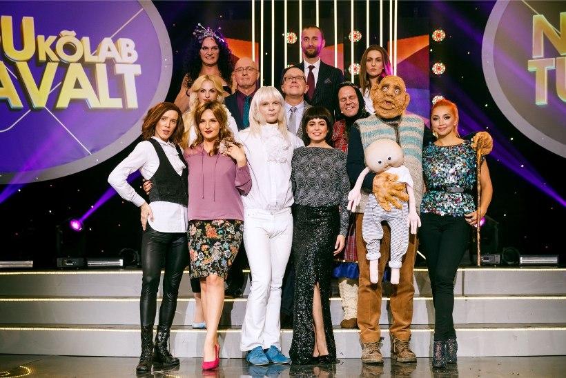 TELETOP   Tabelit juhib taas näosaade, kuid nõiasaate finaali vastu oli televaatajate huvi leige