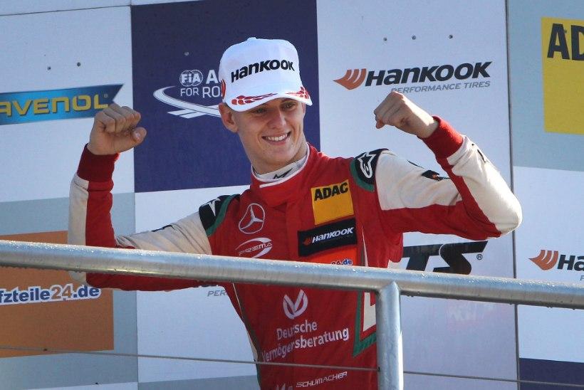 Michael Schumacheri poeg astus olulise sammu F1 suunas