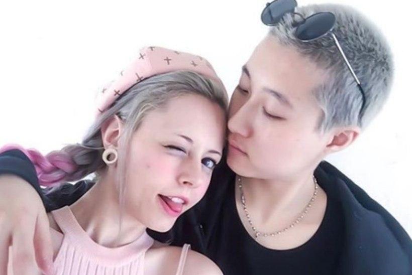 Jackie Chani teismeline tütar abiellus naisega