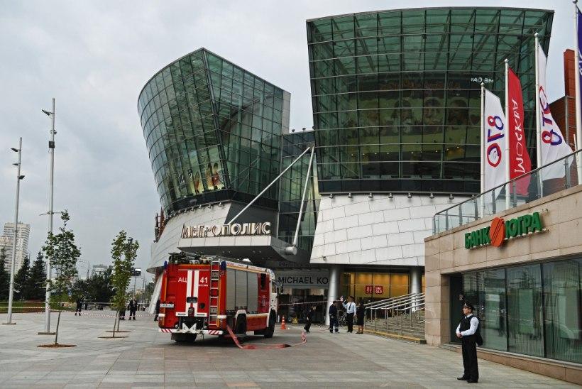 Moskva kaubanduskeskustest evakueeriti tuhandeid inimesi