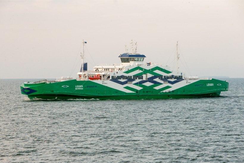 Hiidlased protesteerivad parvlaevade talvise sõiduplaani kokkukuivamise vastu