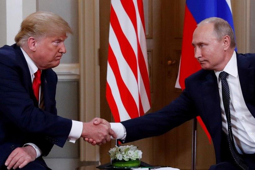 Trump tühistas Kertši väina konflikti tõttu kohtumise Putiniga