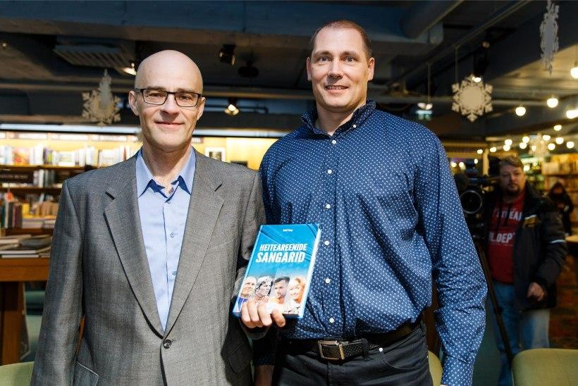 FOTOD   Õhtulehe spordireporter esitles raamatut, kuhu on jõudnud valdavalt rääkimata lood dopingust, söömishäiretest ja paljust muust