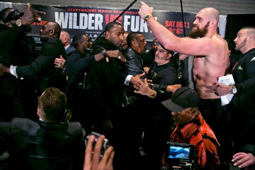 Võitmatute lahing! Wilder kuulutas Furyle sõja, käed lasti käiku juba pressikonverentsil
