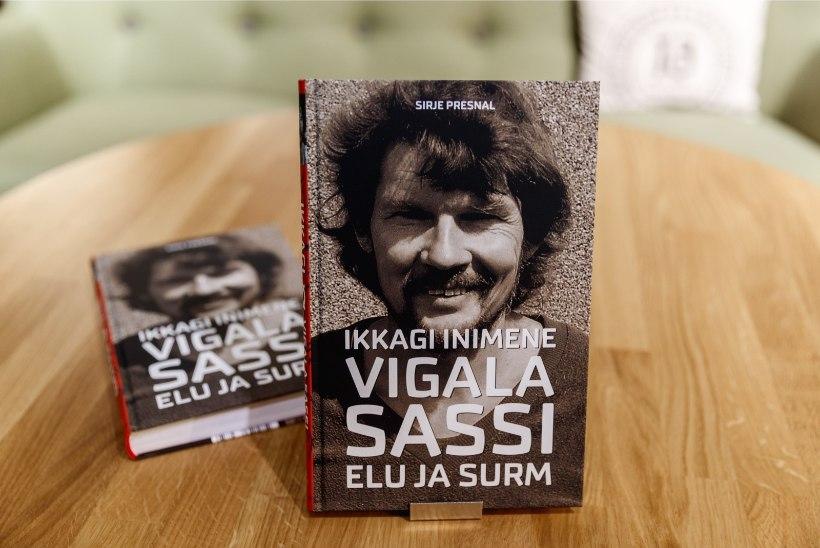 GALERII | Võimas debüüt kirjanikuna: Sirje Presnal esitles Vigala Sassi elulooraamatut