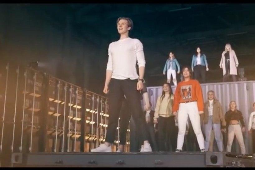 Superstaarisaate finalist Jaagup Tuisk avaldas võimsa muusikavideo, milles lööb kaasa ligi 70 tantsijat
