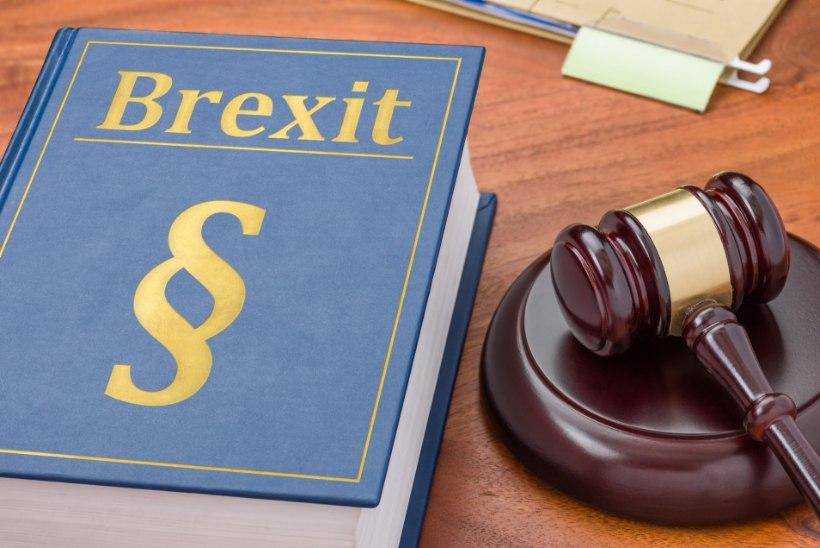 Euroopa Liidu õigusi kaitsev Brexiti lepe on britid ärevile ajanud
