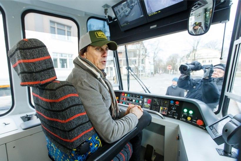 ÕL VIDEO JA GALERII | Hendrik Sal-Saller Smilersi-nimelisest trammist: juht pakkus, et võiksin ühe ringi teha