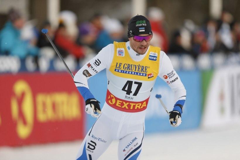 Eesti suusasprinteritele jäi veerandfinaali uks suletuks, Veerpalu lõpetas 104. kohal