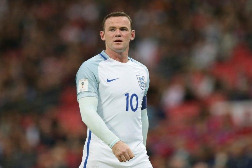 Wayne Rooney jookseb taas Inglismaa koondise eest väljakule