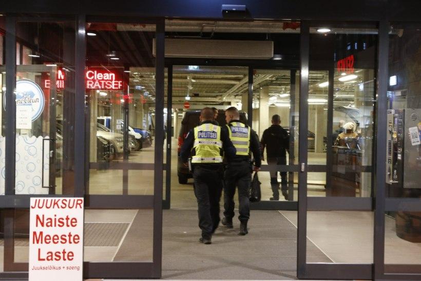 Balti jaama turu toidupoes suri inimene