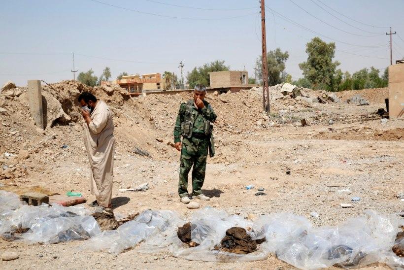 VÕIGAS LEID: Iraagis ajas ISIS tuhanded ohvrid massihaudadesse