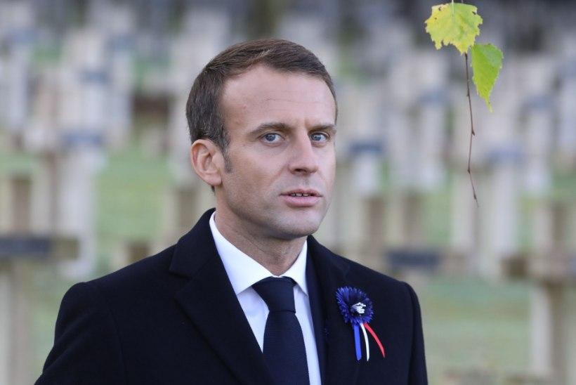Macron: vajame tõelist Euroopa armeed
