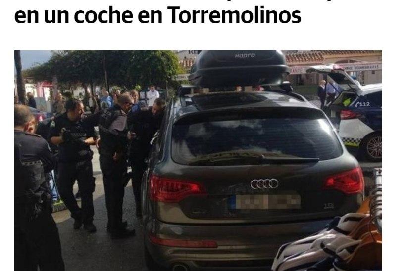 В Испании полицейские вызволили эстонского ребенка из закрытой машины