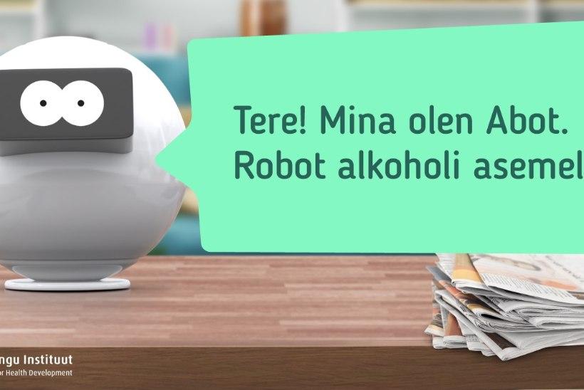 KAS SEE ON NALI? Täna hakkab tööle robot Abot, mis annab masendunud inimestele nõu