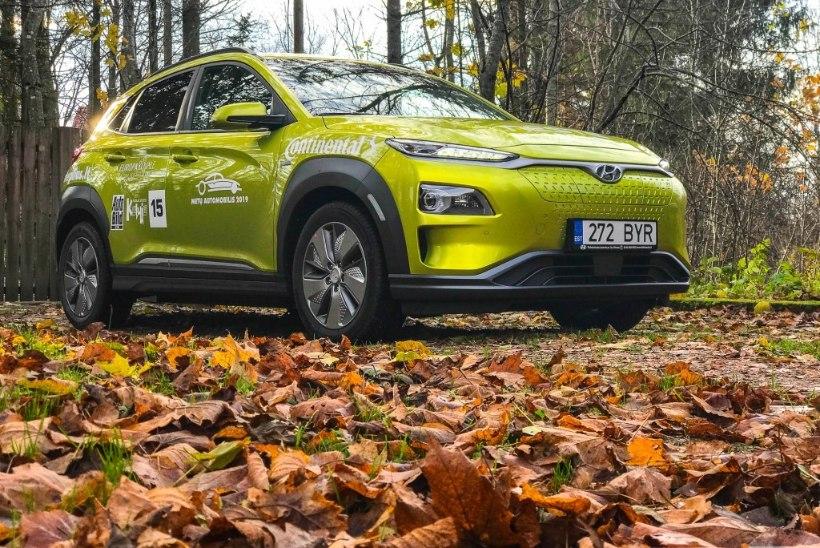 Pilk peale, käsi külge: Hyundai Kona Electric, väärt üllatusmuna tiitlit