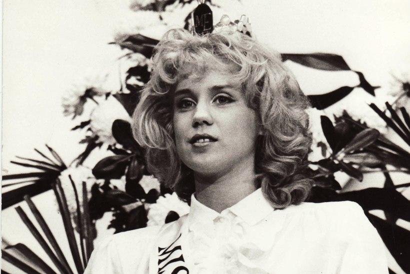 Esimene Miss Estonia Heli Mets komistas laval ja oleks peaaegu kukkunud