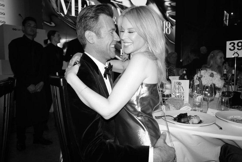 Seni õnnetu armueluga Kylie Minogue on uuest kallimast lummatud