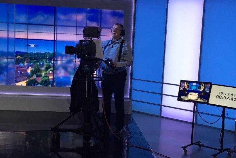 """Rahvusooper Estonia peadirektor Aivar Mäe proovis """"Ringvaate"""" kaameramehe rolli: kui 120 000 inimest vaatab, siis võtab ikka käe värisema küll!"""