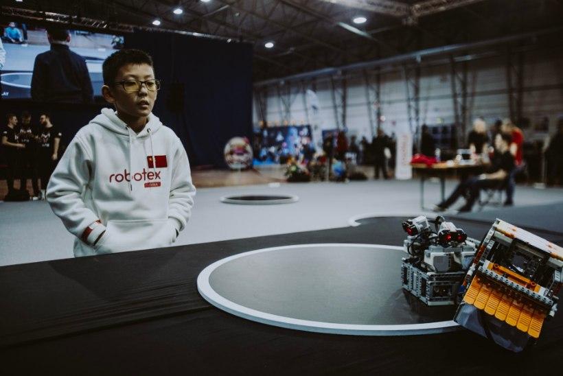 GALERII | Robootikafestival Robotex toob võistlema üle tuhande meeskonna