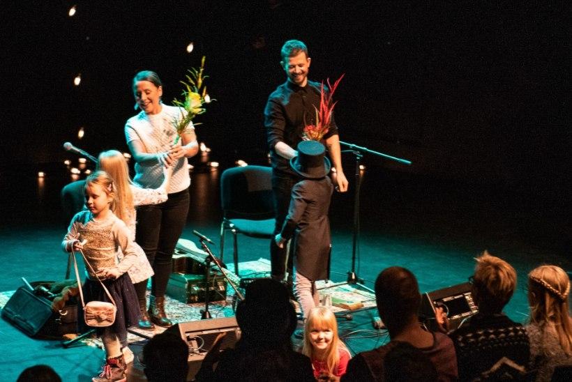 GALERII | Pisikesed muusikasõbrad nautisid Jõulujazzil Sandra ja Jalmar Vabarna perekontserti