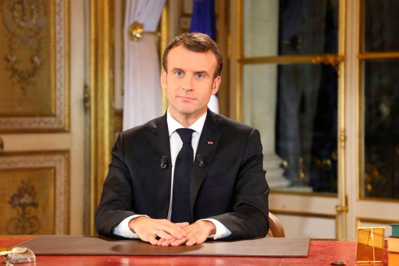 Macron lubab prantslastele palgatõusu
